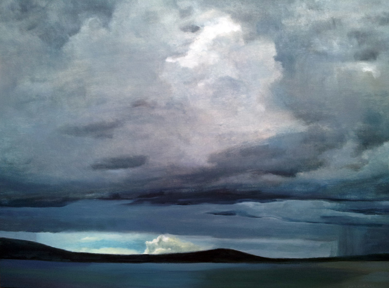 Belfast Lough, Northern Ireland,  oil/canvas, 30″ X 40″, 2015