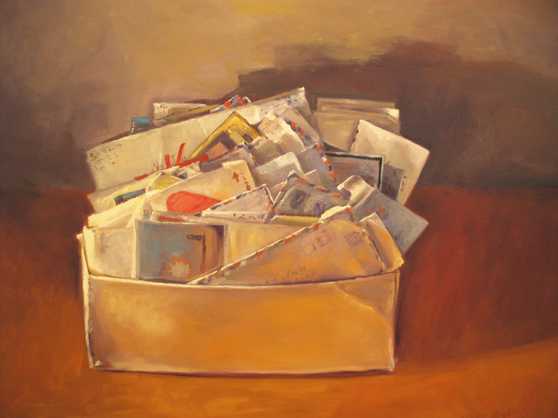 Love letters  oil/canvas 20″ X 24″ 2006