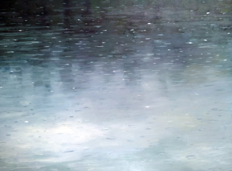 Rain, North Lake II oil/canvas,  30″ X 40″ 2015