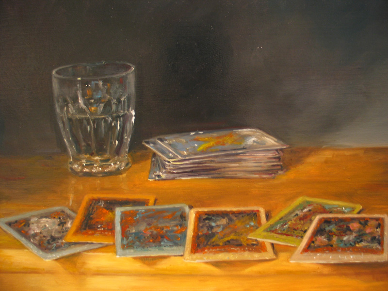 Reading  oil/canvas 20″ X 24″ 2006