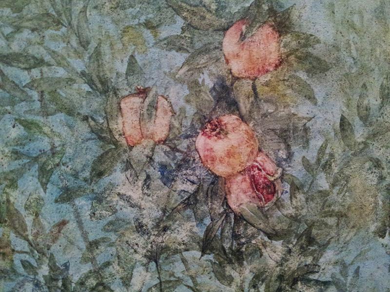 Faux fresco, (detail) 2015