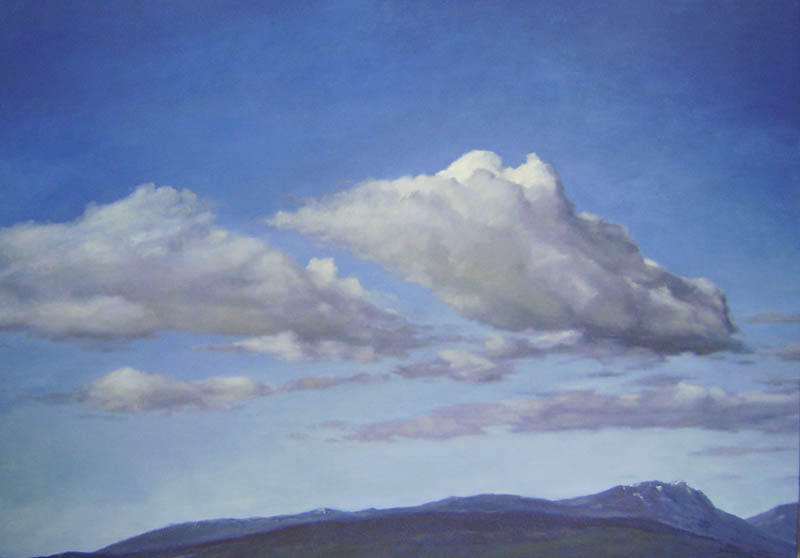 New Clouds oil/canvas 48″ X 40″ 2010
