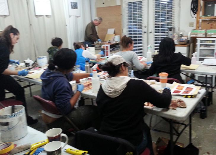Vancouver painting workshop